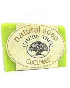 Green Tree Natural soap Cucumber 100gr.