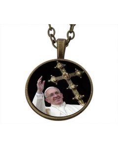 Lucky Pendant Pope Francisus  22mm