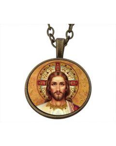 Lucky Pendant Jesus Christ 22mm