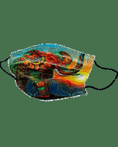 Yogi Masker Colorful Elephant