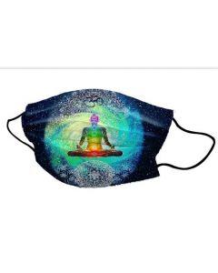 Yogi Masker 7 Chakra's Meditation