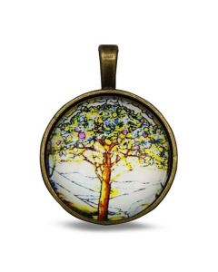 Lucky Pendant Tree of Life 22mm