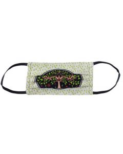 Yogi Mask Tree of Life White