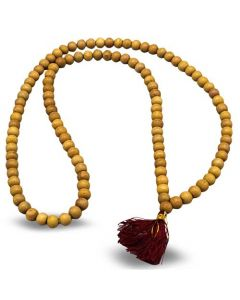 Banyan Tree Mala with Red Tassel