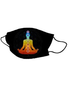 Yogi Mask Man Flower of Life