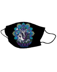 Yogi Mask Ganesh Lotus
