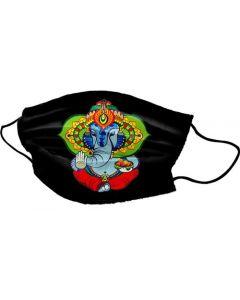 Yogi Mask Ganesh Modak Black