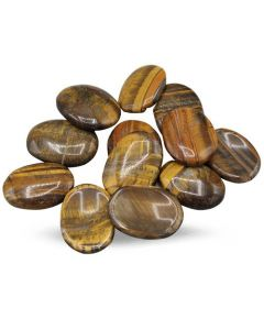 Tiger Eye Oval Cabs 12 units