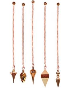 METAL PENDULUM PRO ASSORTED SHAPES COPPER