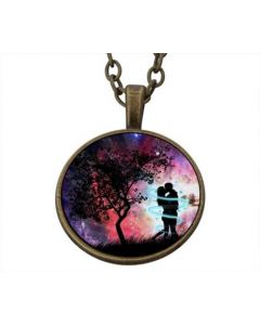 Lucky Pendant Electric Love incl. chain