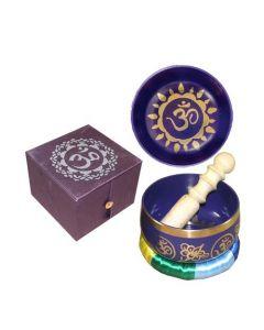 Chakra Singing Bowl Purple-Crown --31250