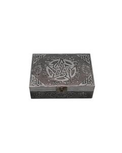 Celtic Pentacle Aluminum Box