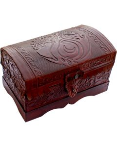 Leather Box with Tree of Life
