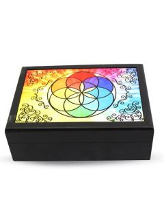 Bright Seed of life storage box