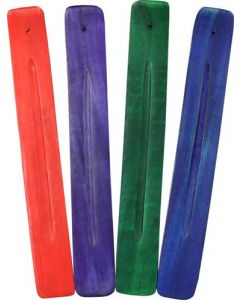 Wooden Incense holder in 4 colors