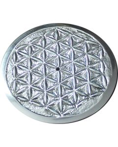 Metal Flower of Life Incense Holder