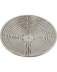 Metal Labyrinth Incense Holder