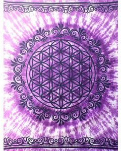 Tapestry Flower of Life  147*208 cms