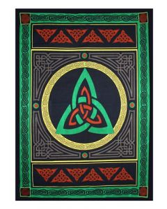 COTTON TAPESTRY TRIQUETRA 52 x 76""
