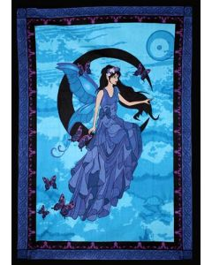 COTTON TAPESTRY MOON FAIRY 52 x 76""
