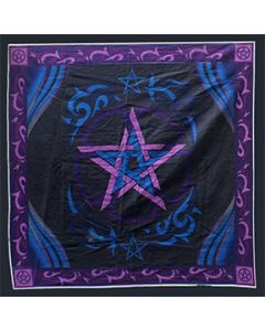ALTAR CLOTH PENTACLE 36*36
