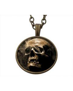 Lucky Pendant Human Skull incl. chain