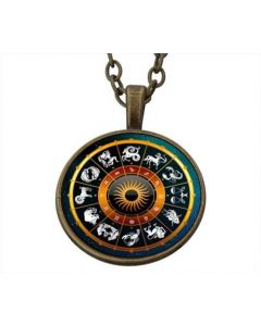 Lucky Pendant Zodiac Signs incl. chain