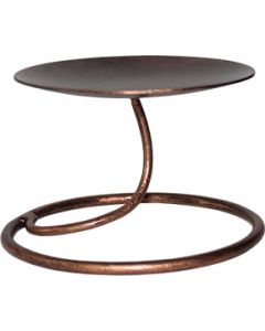 STAND FOR ONE LOTUS IN COPPER
