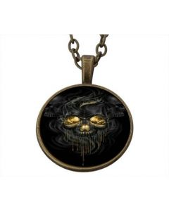 Lucky Pendant Scary Skull incl. chain
