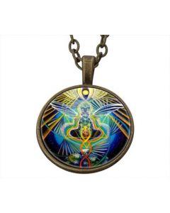 Lucky Pendant Chakra Angel incl. chain