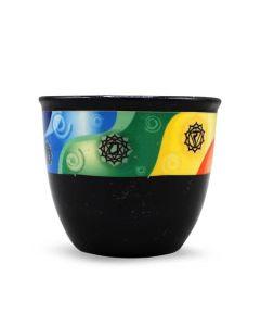 Ceramic Smudge Holder Chakra Small