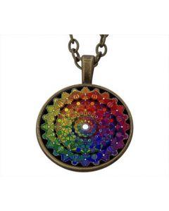 Lucky Pendant Mandala incl. chain