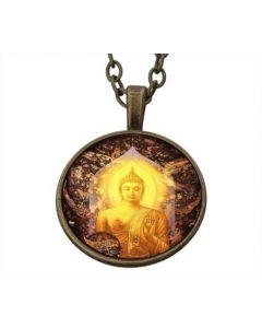Lucky Pendant Thai Buddha 22 mm