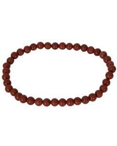 Bracelet Red Jasper (4mm)