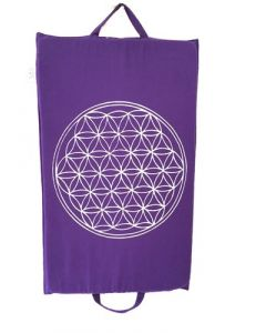 Spike Mat Flower Of Life Print (68 x 42 cm) In Purple