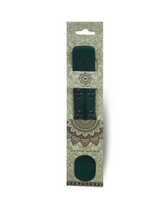 Green Tree Wooden Incense Holder Green
