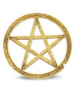 Brass pentagram 25cm