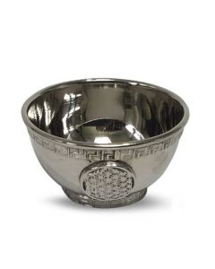 Offering Bowl Nickel Flower of life