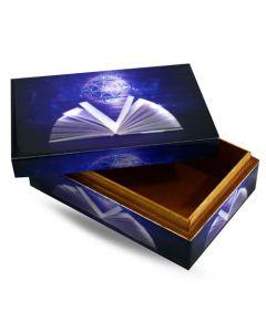 Magic Book spells Box (15x10cm)