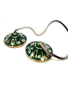 Ting-Sa Bell Heart Chakra -Green