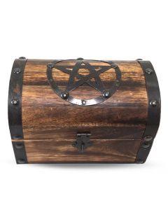 Celtic Pentacle - altar box