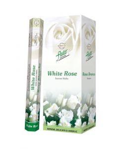 Flute White Rose Hexa