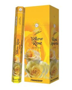 Flute Yellow Rose Hex