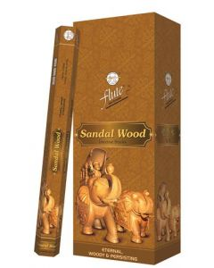 Flute Sandal Wood Hexa