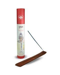 Green Tree YOGA incense set with incense burner