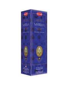 Hem Myrrh Square (25 x 8 Stokjes)