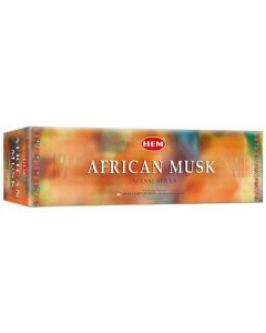 Hem African Musk Square (25 x 8 Sticks)