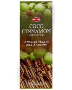 Hem Coconut Cinnamon Hexa