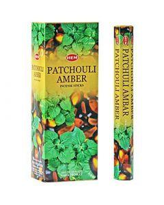 Hem Patchouli Amber Hexa