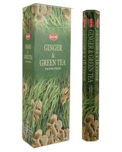 Hem Ginger Green Tea Hexa